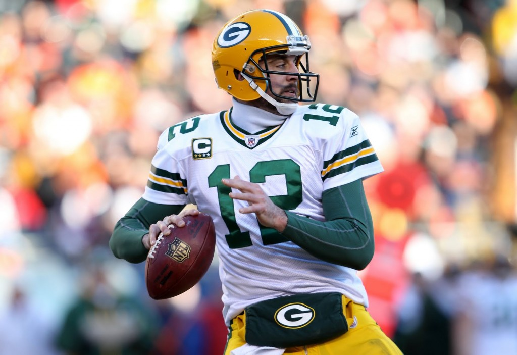 Wild Card Weekend, Aaron Rodgers, Fantasy Projections, Rankings