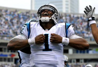 Cam Newton, Panthers, Fantasy Football Start of the Week, Week 16