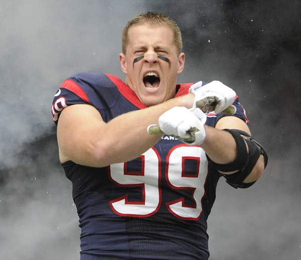 J.J. Watt, Defensive Player of the Year