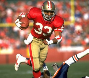 RB Roger Craig led the league in receptions in 1985 with 92.