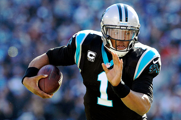 Cam Newton NFC Divisional Playoff