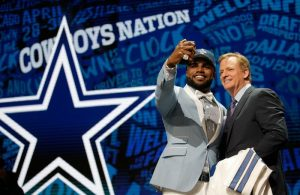 Ezekiel Elliott Dallas Cowboys 2016 NFL Draft