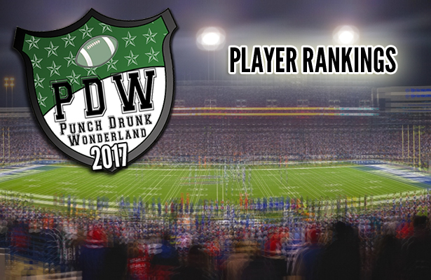 2017 Fantasy Football Player Rankings